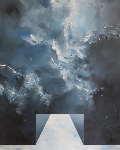 Agnieszka Potocka-Makoś_Studio Plama_Tunel_akryl na płótnie_2017